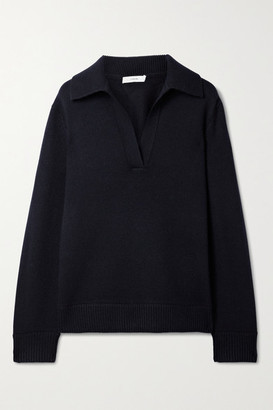 Vince Wool And Cashmere-blend Sweater - Midnight blue