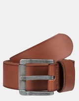Quiksilver Mens The Everydaily Buffalo Leather Belt