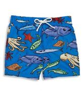 Dolce & Gabbana Baby's Fish-Print Swim Trunks