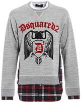 DSQUARED2 Check D2 Sweatshirt