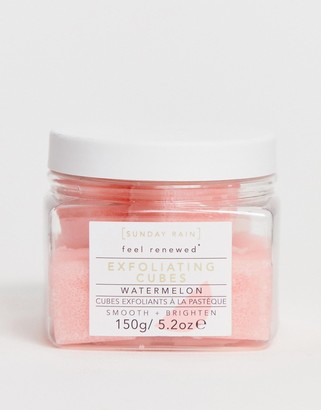 Sunday Rain Exfoliating Cubes Watermelon-No Color