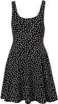 Petite Spot Flippy Hem Dress