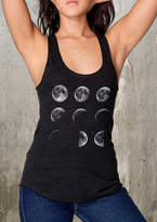 Etsy Women's Tank Top - Moon Phases - Women's Racerback Tank Top - American Apparel Tri-Blend Tank - Avai