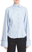 Marques Almeida Women's Marques'Almeida Fitted Cotton Shirt