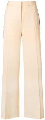 Victoria Victoria Beckham Wide Leg Tailored Trousers