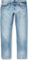 Valentino - Slim-fit Washed-denim Jeans