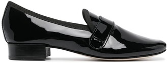 Repetto Glossy Leather Loafers