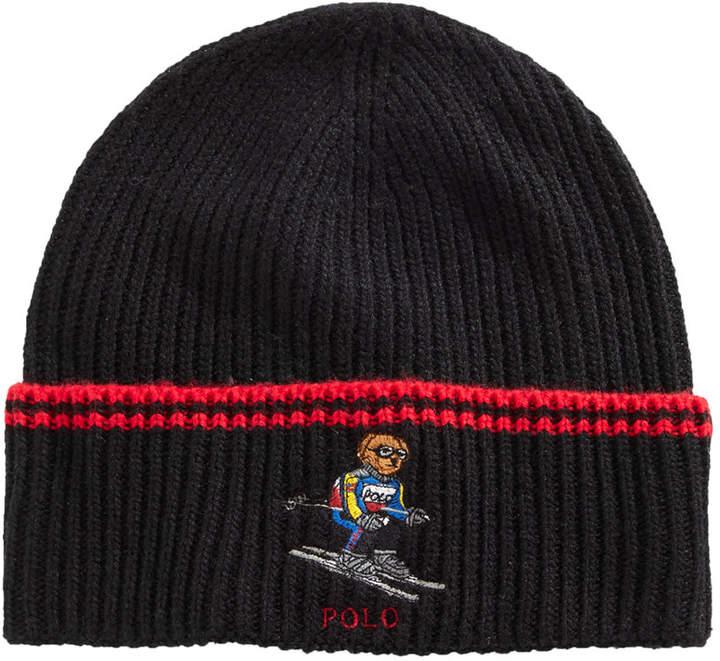 e35317b0 Skiing Bear Cuffed Hat