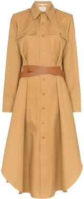 Stella McCartney button-front shirt dress