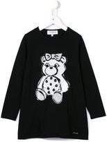 Simonetta teddy T-shirt dress