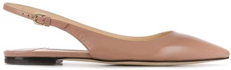 Jimmy Choo Erin ballerina shoes