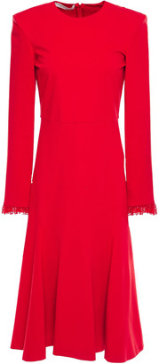 Philosophy di Lorenzo Serafini Lace-trimmed Jersey Midi Dress
