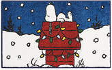 "Nourison Snoopy Sleeping Holiday 18"" x 30"" Accent Rug"