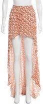 Alexis Pleated Maxi Skirt