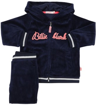 Billieblush Velvet Sweatshirt & Sweatpants