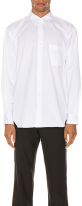 Comme Des Garcons SHIRT Forever Long Sleeve Shirt in White | FWRD