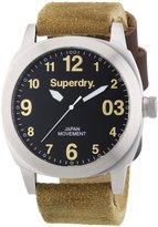 Superdry RELOJ THOR HEAVY SUADE Men's watches SYG103TB