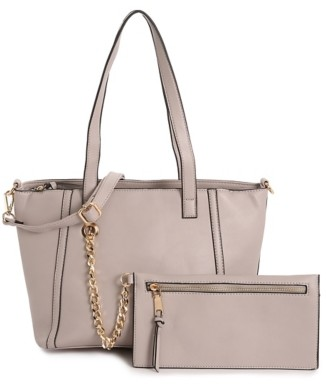 Violet Ray Chain Tote