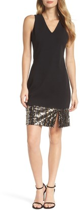 Vince Camuto Sequin Sheath Dress (Regular & Petite)