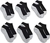 Jefferies Socks Little Boys' Seamless Sport Low Cut Half Cushion Socks (Pack of 6)