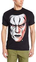 WWE Men's Sting Big Face Men's T-Shirt