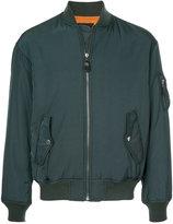 G.V.G.V. lace-up back bomber jacket