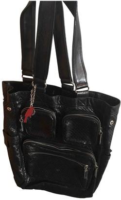 Cacharel Black Leather Handbags