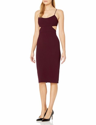 Jill Stuart Jill Women's Bodycon Midi with Cutouts