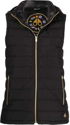 Moose Knuckles padded hooded gilet