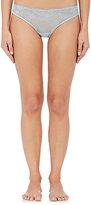 La Perla Women's Airy Blooms Bikini Briefs-Blue