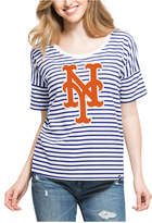'47 Women's New York Mets Coed Stripe T-Shirt