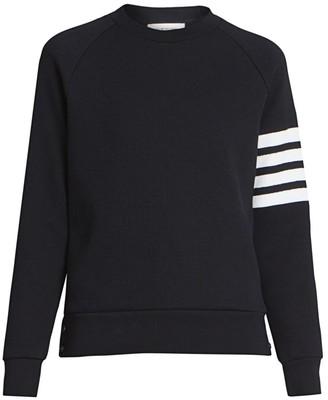 Thom Browne Striped Raglan Sleeve Sweater