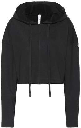 Alo Yoga Edge cotton-blend hoodie