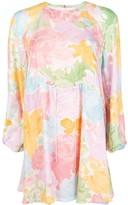 Stine Goya Rose-Print Mini Dress