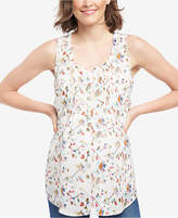 Motherhood Maternity Printed Sleeveless Top