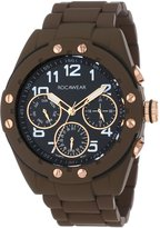 Rocawear Men's RM0117T1-050 Stylish Bracelet Enamel Bezel Watch