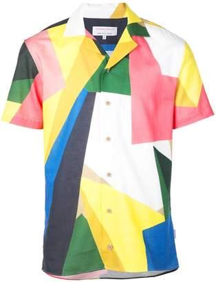 Orlebar Brown travis rob wyn yates prism shirt