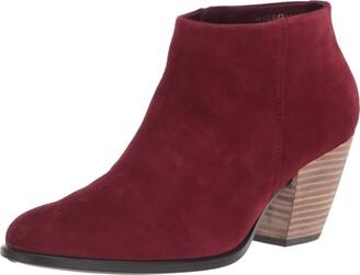 Ecco Women's Shape 55 Western Ankle Boot Hydromax Fashion