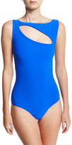Chiara Boni La Petite Robe Perseide Cutout One-Piece Swimsuit