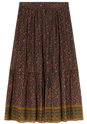 Soledad midi skirt
