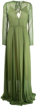 Forte Forte Chiffon Maxi Dress