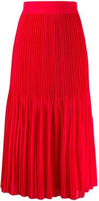 Alice + Olivia Alice+Olivia flared pleated skirt