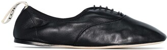 Loewe soft Derby ballerina shoes