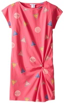 Little Marc Jacobs All Over Printed Dress with Knotted Detail Girl's Dress