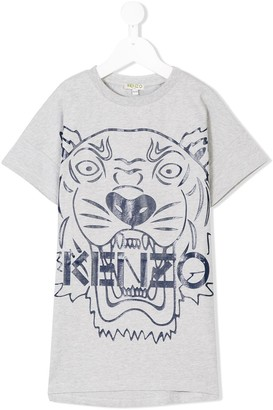 Kenzo Kids tiger T-shirt dress