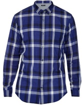 Vince Plaid-print Cotton Shirt