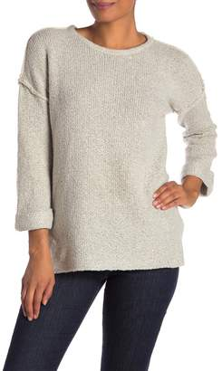 Olivia Sky Relaxed Exposed Seam Sweater