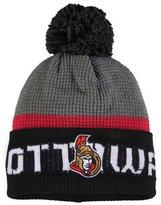Reebok Ottawa Senators Cuffed Pom Knit Toque