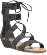 Carlos by Carlos Santana Kamilla Lace-Up Gladiator Sandals