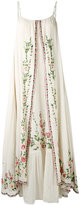 Mes Demoiselles embroidered maxi dress